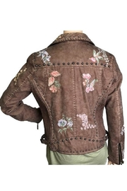 Montanaco Wild Flower Moto-Jacket - Side cropped