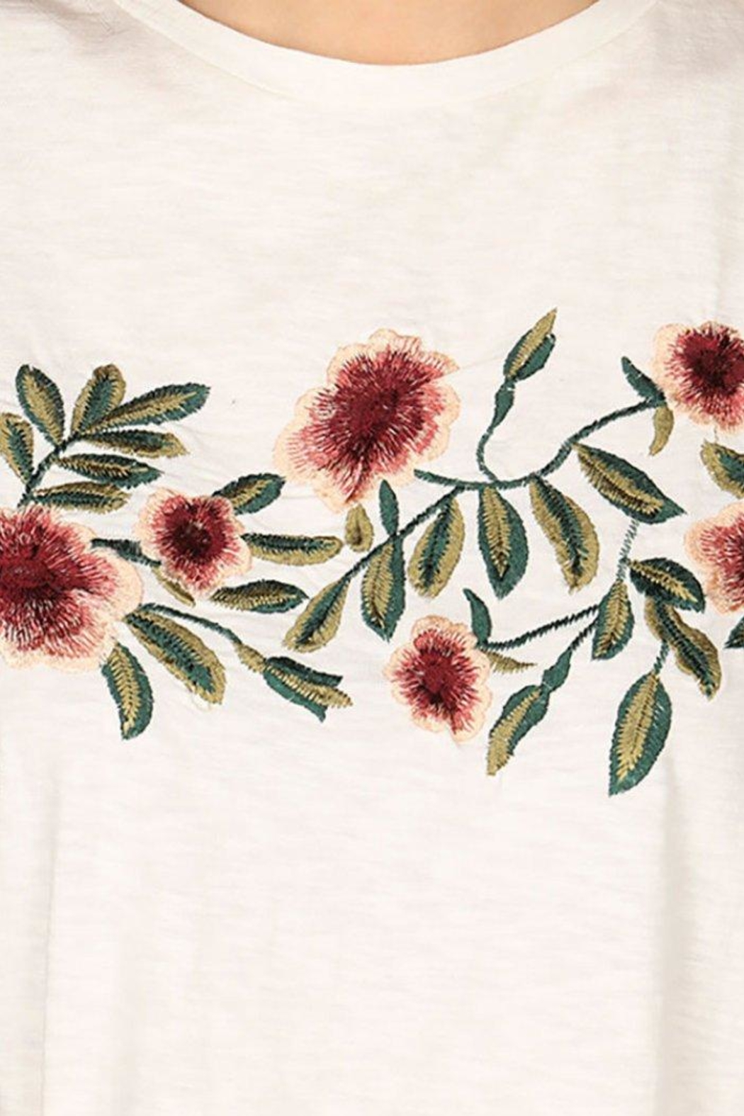 Montanaco Wild Flower Tee - Side Cropped Image
