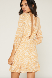 SAGE THE LABEL Wild Honey Mini Dress - Front full body