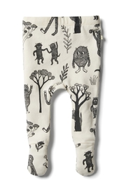 Wilson & Frenchy  Wild Little Monster Footed legging - Product Mini Image