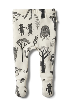 Shoptiques Product: Wild Little Monster Footed legging