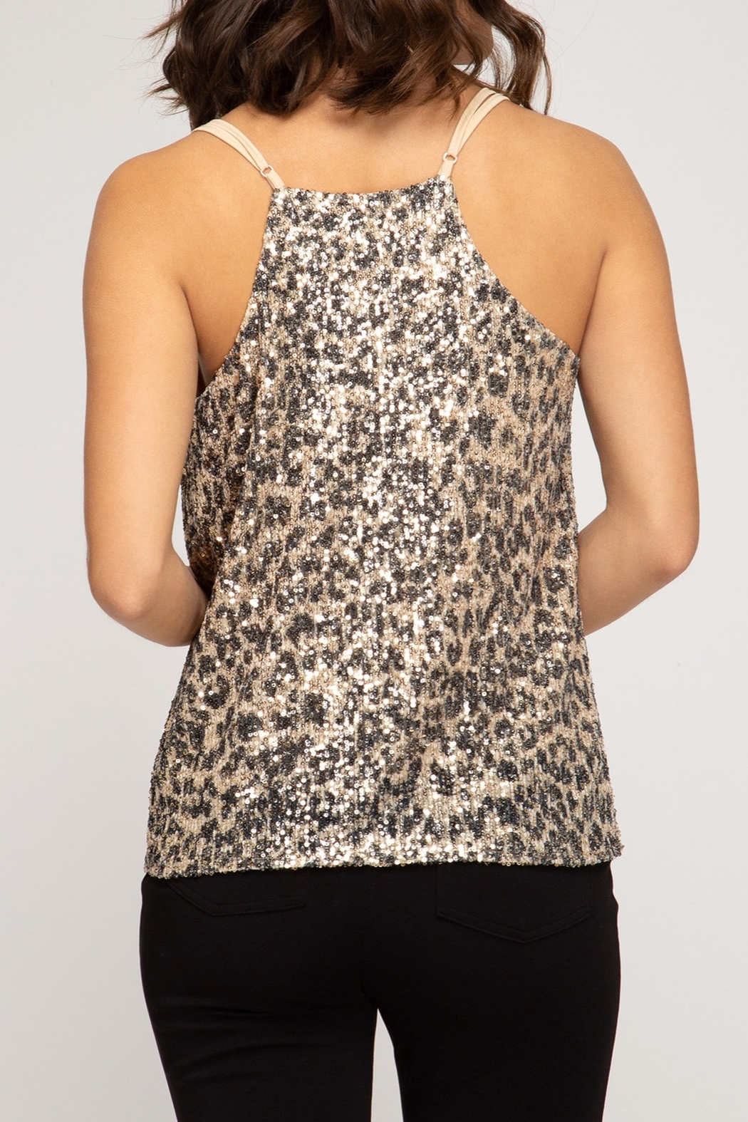 She + Sky Wild Love Top - Front Full Image