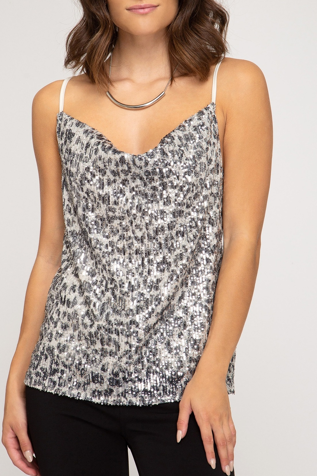 She + Sky Wild Love Top - Front Cropped Image