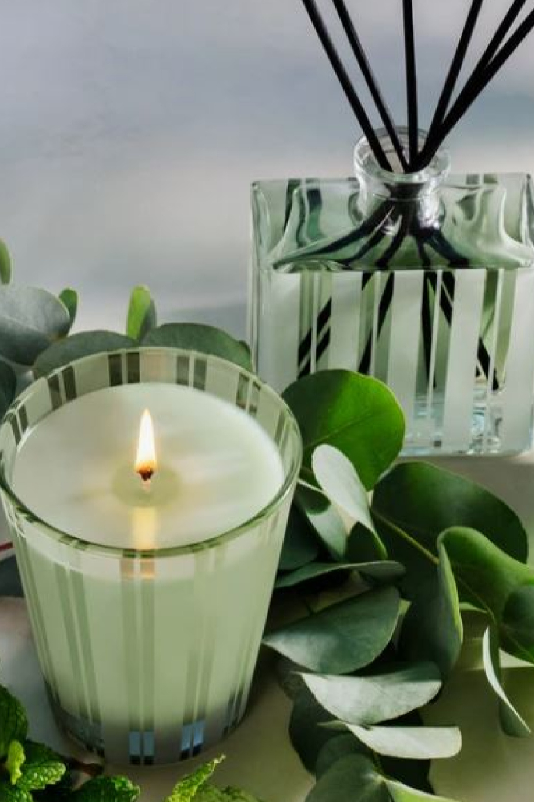 Nest Fragrances WILD MINT & EUCALYPTUS DIFFUSOR - Side Cropped Image