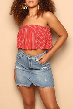 SAGE THE LABEL Wild One Crop Top - Product List Image