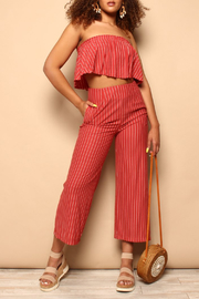 SAGE THE LABEL Wild One Cropped Pants - Product Mini Image