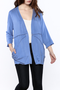 Shoptiques Product: Blue Tunic Sweater