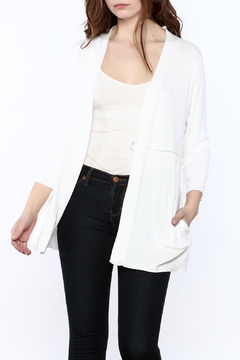 Shoptiques Product: White Tunic Sweater