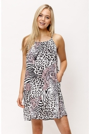 Mittoshop Wild Pattern Cami Woven Dress - Product Mini Image