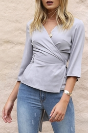 Lost in Lunar Wild Roses Top - Front cropped