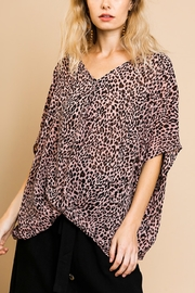 Umgee Wild Side top - Front full body