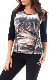 Angel Apparel Wild Studded Top - Product Mini Image