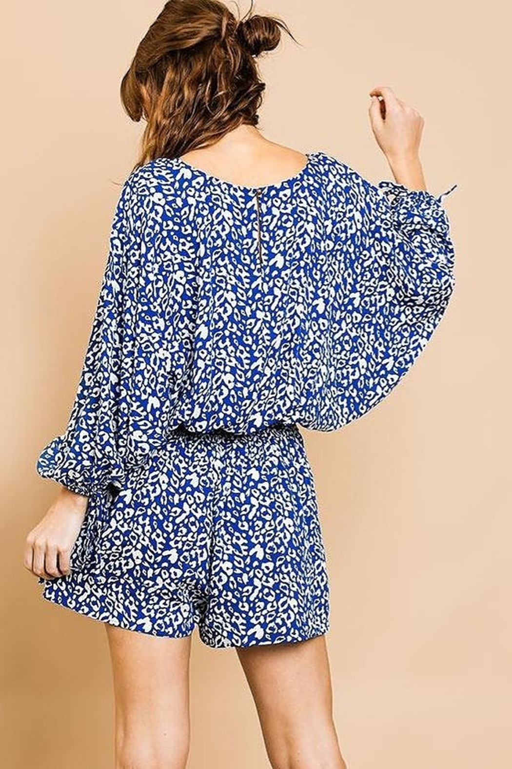 Umgee Wild Times romper - Front Full Image
