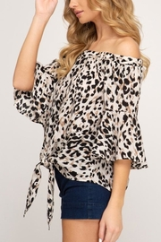 She & Sky  Wild Times top - Front full body