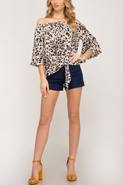She & Sky  Wild Times top - Front cropped