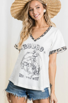 Faire Wild West Rodeo Tee - Product List Image