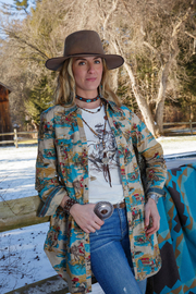 Tasha Polizzi Wild West Tunic - Product Mini Image