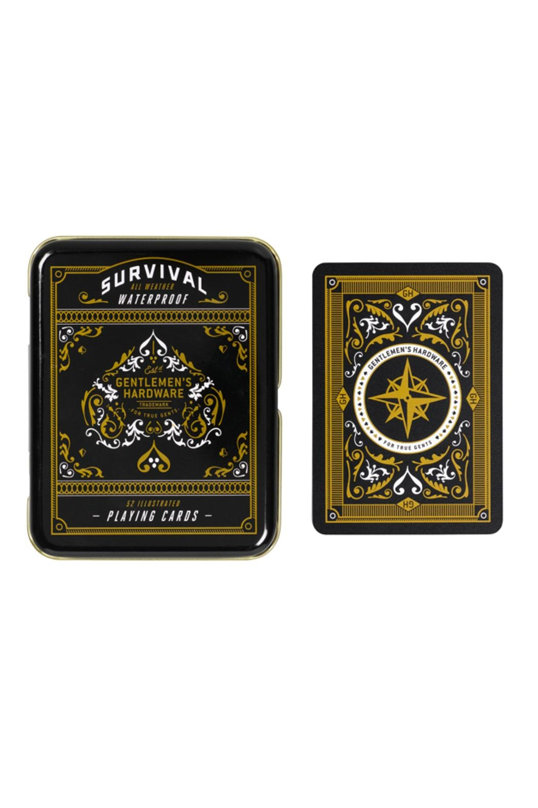 Wild & Wolf Survival Playing Cards - Main Image