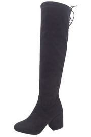 Wild Diva Chunky Knee-High Boot - Front cropped