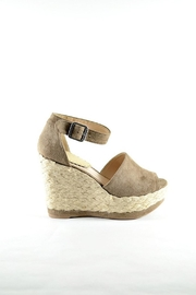 Wild Diva Espadrille Wedge - Product Mini Image