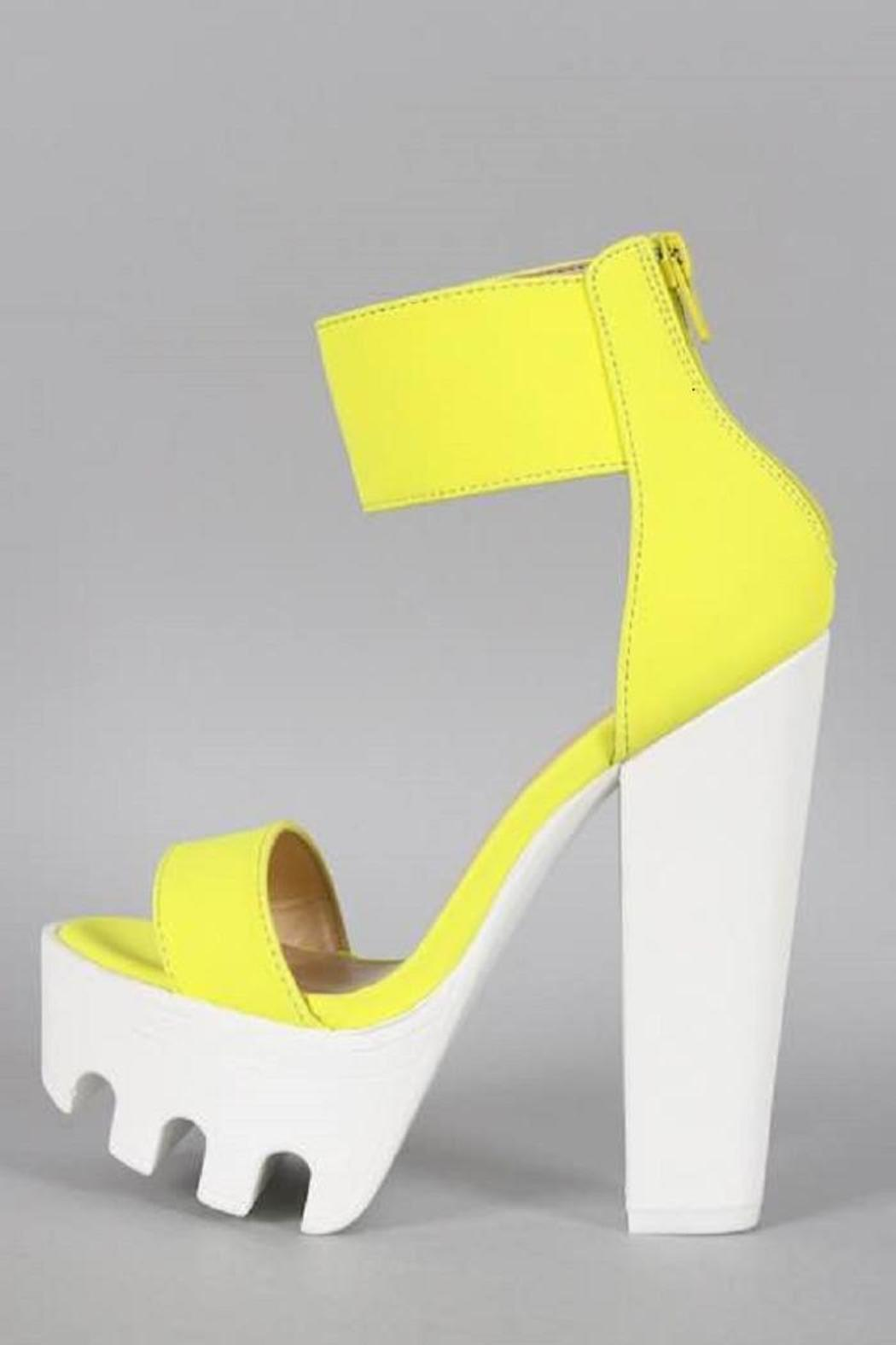 d8220dc5f70 Wild Diva Neon Platform Heels from Missouri by Domi More — Shoptiques