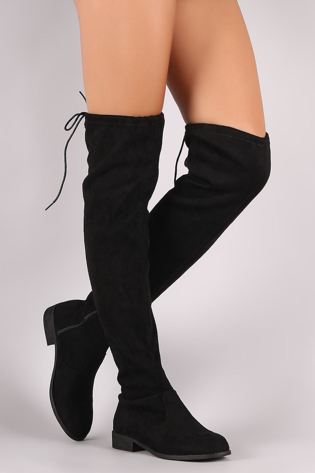 Wild Diva Oksana Over-The-Knee Boot - Front Full Image