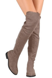 Wild Diva Over-The-Knee Boot - Front cropped