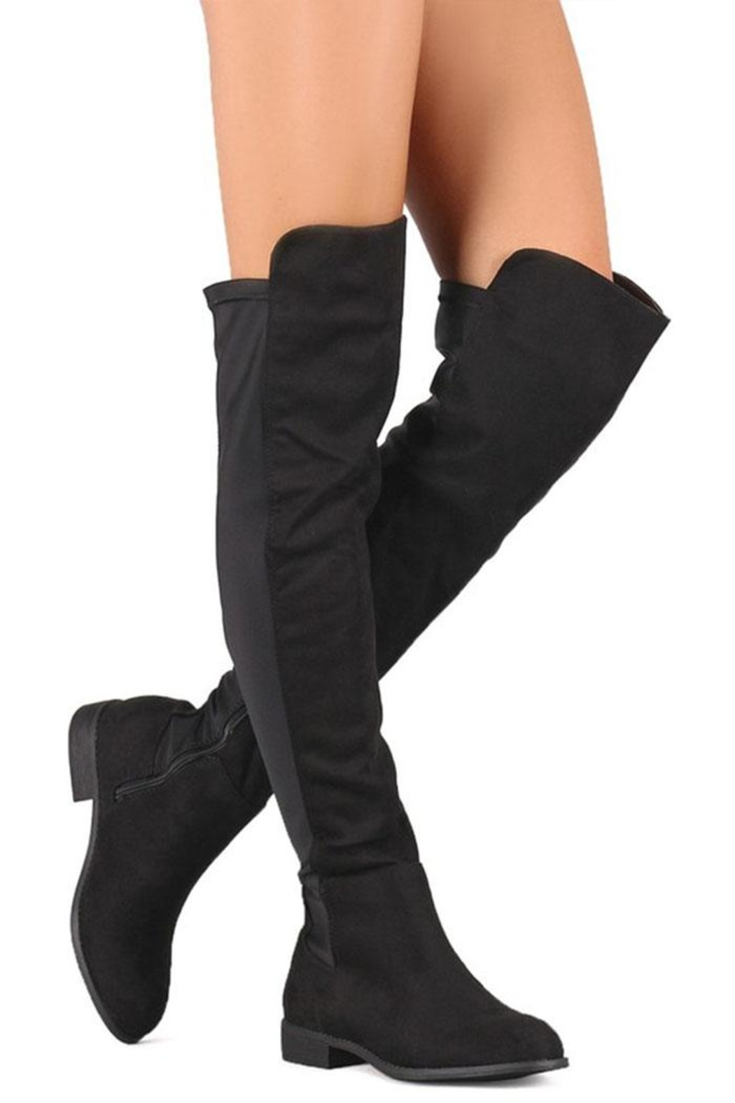 Wild Diva Over-The-Knee Boot - Front Cropped Image