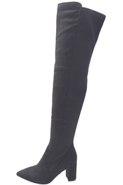 Wild Diva Over-The-Knee Boots - Front full body