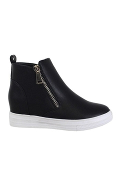 Shoptiques Product: Side Zipper High-Top