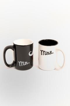 Shoptiques Product: Mr & Mrs Mug Set