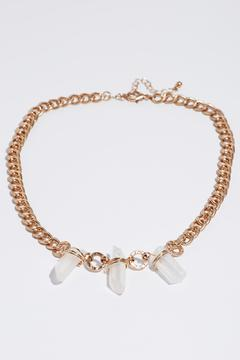 Wild Flower Crystal Trio Necklace - Product List Image