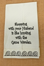 Wild Hare Designs Humorous Guest Towels - Product Mini Image