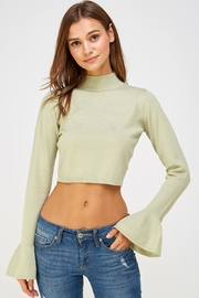 Wild Honey Bell Sleeve Sweater - Product Mini Image