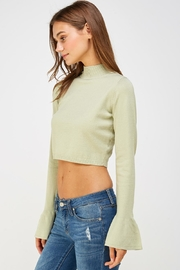 Wild Honey Bell Sleeve Sweater - Side cropped
