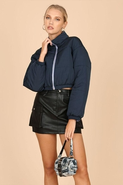 Wild Honey Cropped Puffer Jacket - Product List Image