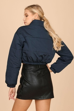 Wild Honey Cropped Puffer Jacket - Alternate List Image