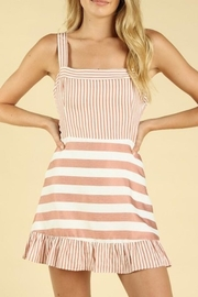 Wild Honey Mixed Stripe Dress - Product Mini Image