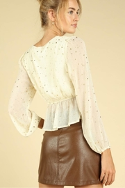 Wild Honey Seeing Stars Blouse - Back cropped