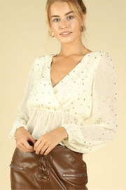 Wild Honey Seeing Stars Blouse - Front cropped