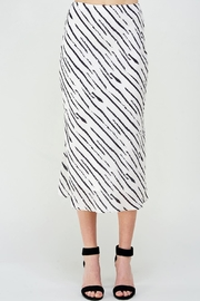 Wild Honey Striped Satin Skirt - Product Mini Image