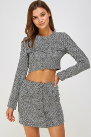 Wild Honey Tweed Skirt Set - Product Mini Image