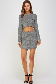 Wild Honey Tweed Skirt Set - Front full body