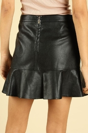 Wild Honey Vegan Leather Skirt - Side cropped