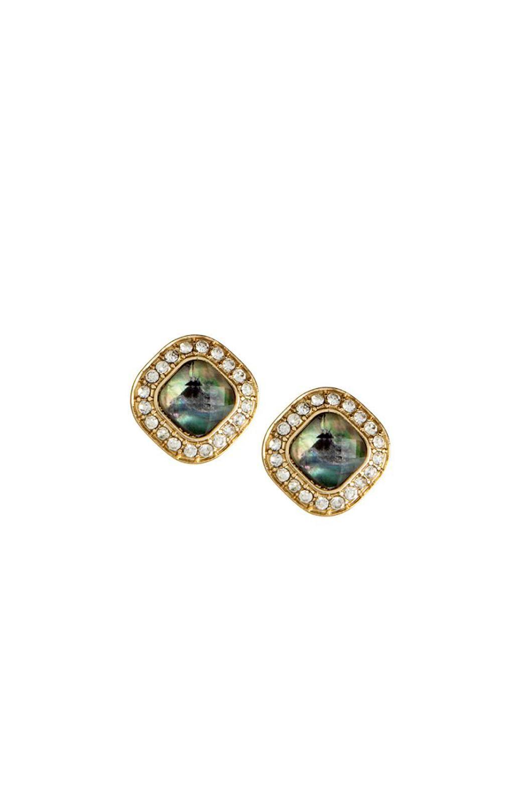 Wild Lilies Jewelry  Abalone Stud Earrings - Main Image