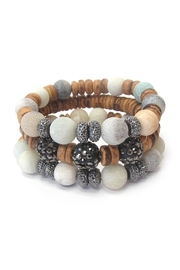 Wild Lilies Jewelry  Amazonite Beaded Bracelet - Product Mini Image