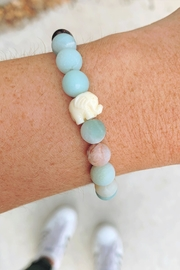 Wild Lilies Jewelry  Amazonite Elephant Bracelet - Product Mini Image