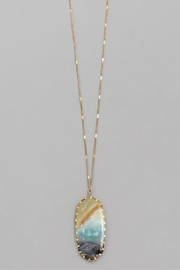 Wild Lilies Jewelry  Amazonite Pendant Necklace - Product Mini Image