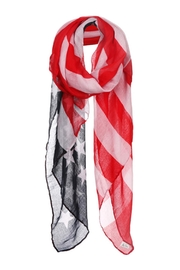 Wild Lilies Jewelry  American Flag Scarf - Front cropped