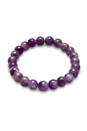 Wild Lilies Jewelry  Amethyst Beaded Bracelet - Product Mini Image